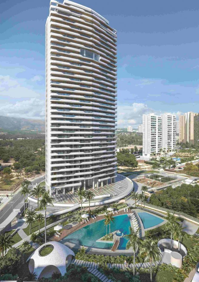 Benidorm Beach Residencial - Torre frontal