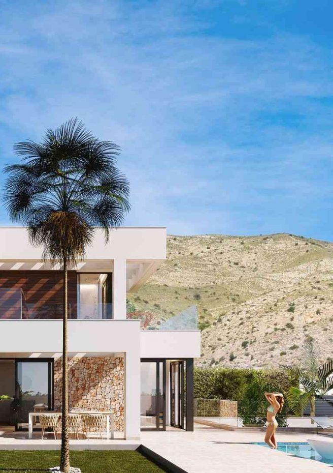 Finestrat Hills - Alzado izquierdo