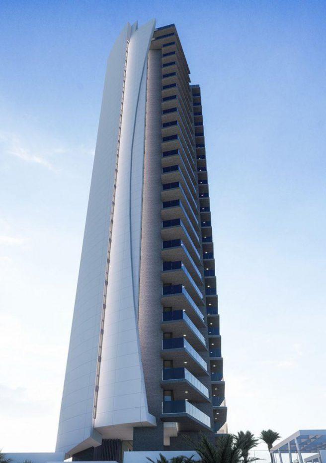 Torre Sakura - Fachada