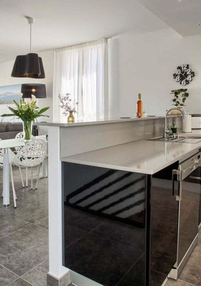 Villa Albir - Cocina Salón