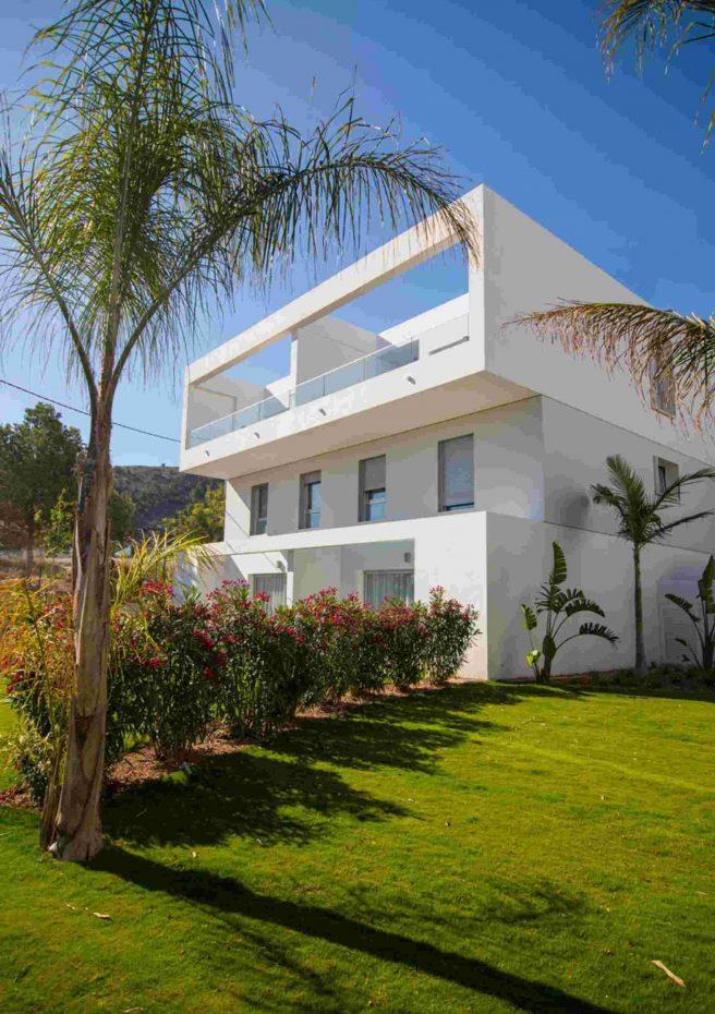 Villa Albir - Fachada Jardín 2