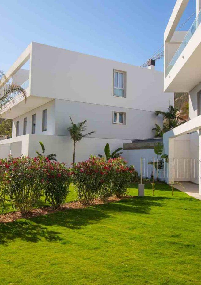 Villa Albir - Fachada Jardín 3