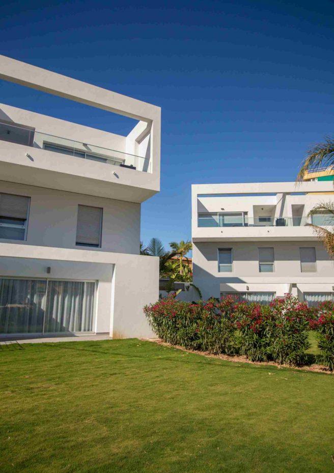 Villa Albir - Fachada Jardín