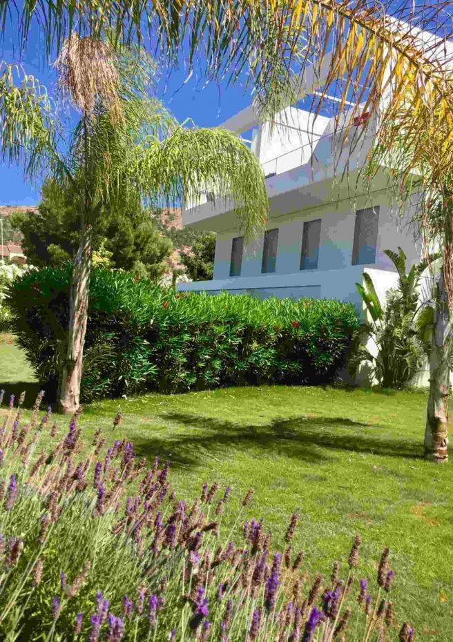 Villa Albir - Jardín