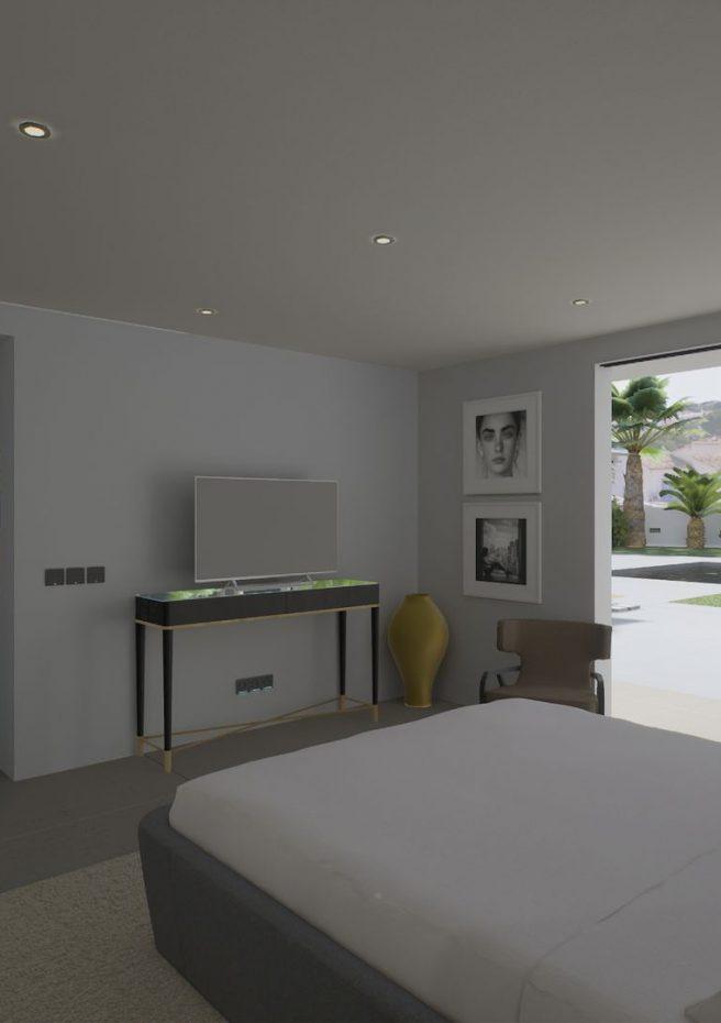 Villa Lleons 7 - Habitación planta baja 2