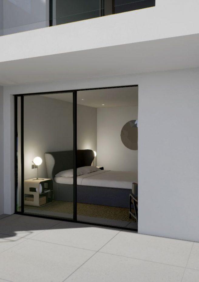 Villa Lleons 7 - Terraza habitación