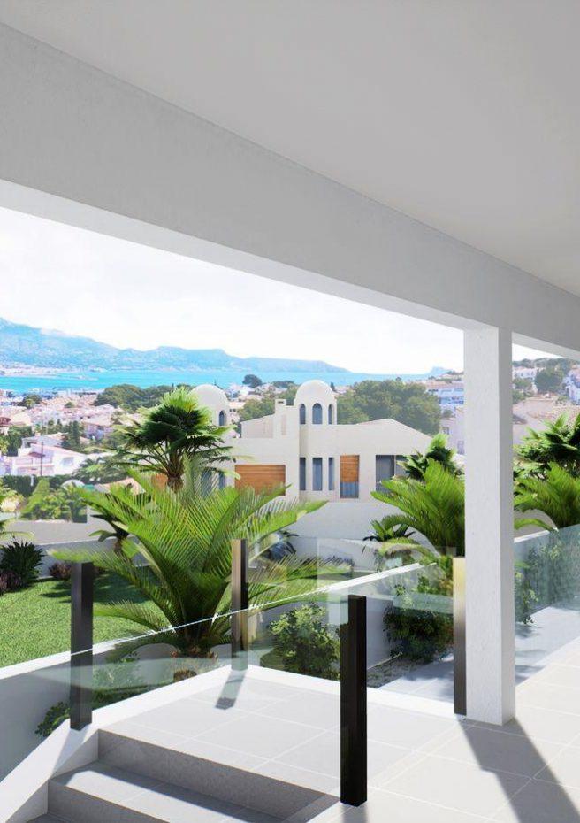Villa Lleons 7 - Vistas al mar